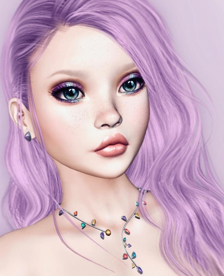 Technicolor Doll
